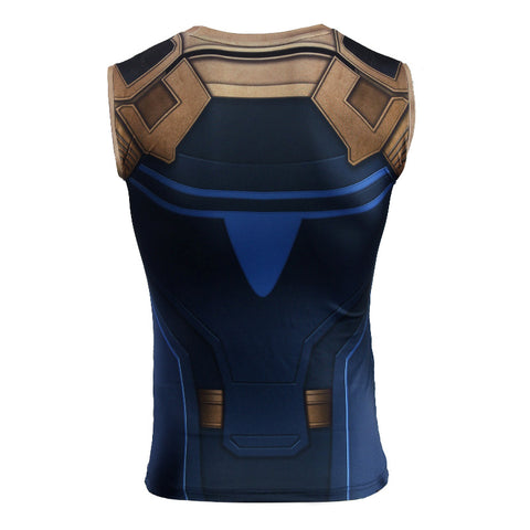 Thanos Infinity War Men's Compression Fitted Tank Top