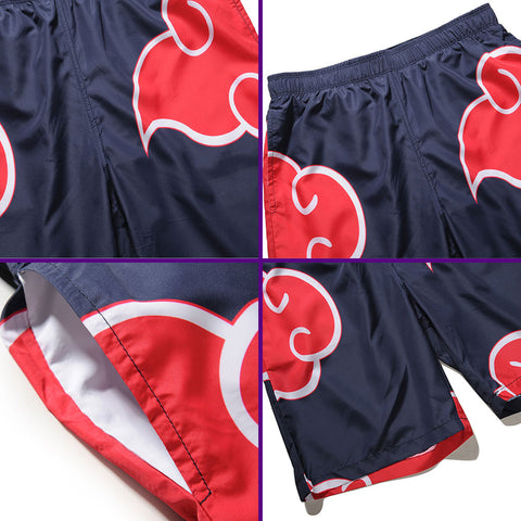 Akatsuki Red Clouds Short Pants