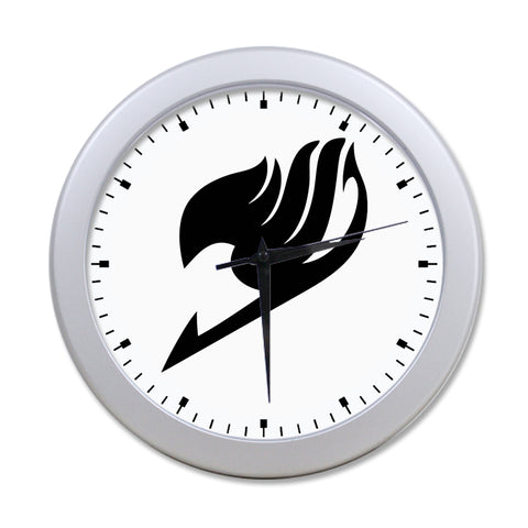 Fairy Tail Guild Crest Elegant Round Wall Clock