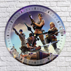 Fortnite Fortress Night Wall Clock