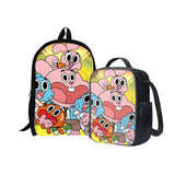 The Amazing World of Gumball Back To School Set Pencil Case Bag Backpack