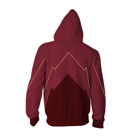 Barry Allen The Flash Zipper Hoodie Sweatshirt