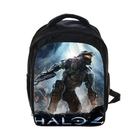 Halo 4 Master Chief Back To School Set Pencil Case Bag Backpack