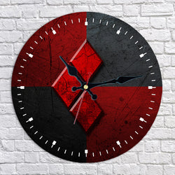 Harley Quinn Diamond Wall Clock