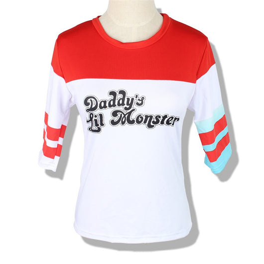 Daddy's Lil Monster Harley Quinn Suicide Squad Women's T-Shirt