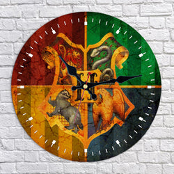 Hogwarts School of Witchcraft and Wizardry Wall Clock