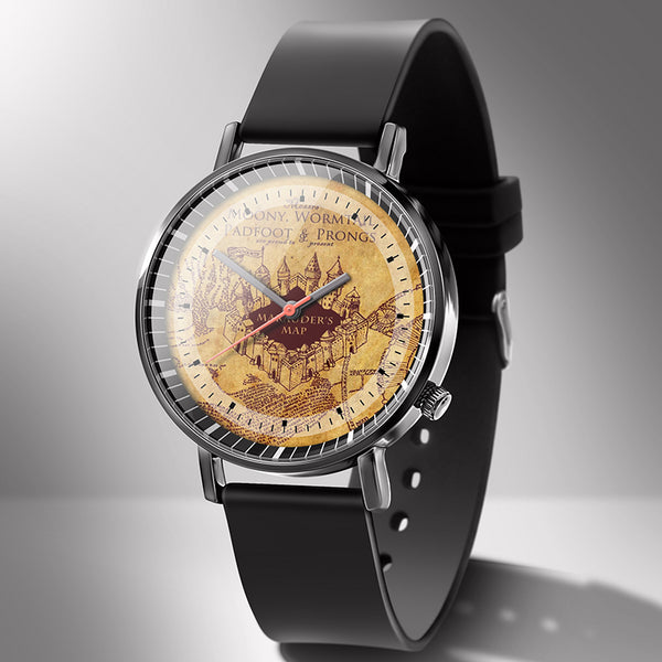 Harry Potter Marauder's Map Wrist Watches