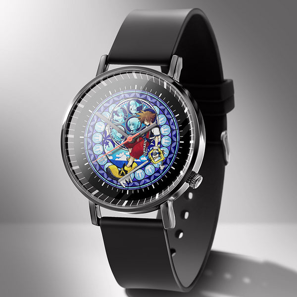 Kingdom Hearts Sora Stained Glass Wrist Watches