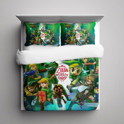 Legend of Zelda 25th Anniversary Bedding Set