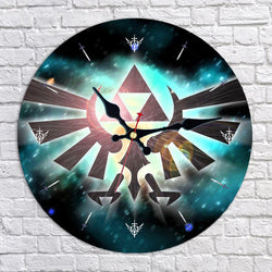 Legend of Zelda Hylian Crest Wall Clock