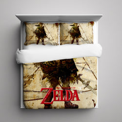 Link Legend of Zelda Bedding Set