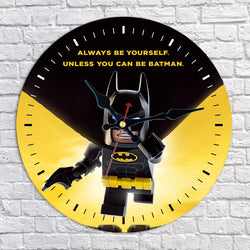 Lego Batman Wall Clock