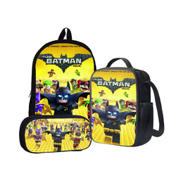 Lego Batman Back To School Set Pencil Case Bag Backpack