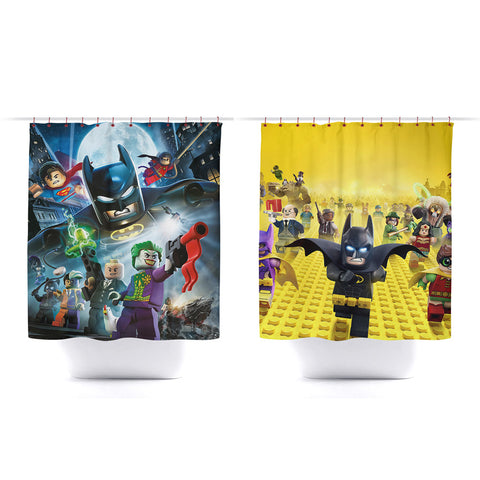 Lego Batman Bath Room Shower Curtain