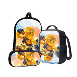Ninjago Skylor Master of Amber Back To School Set Pencil Case Bag Backpack