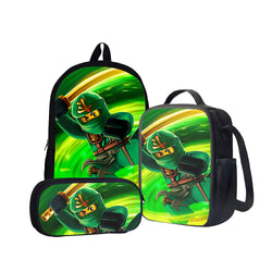 Lloyd Garmadon Back To School Set Pencil Case Bag Backpack
