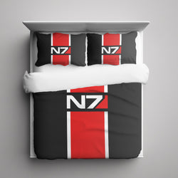 N7 Mass Effect Bedding Set