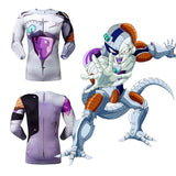 Mecha Frieza Men's Compression Fitted Long Sleeve T-Shirt