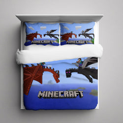 Minecraft Dragon Bedding Set