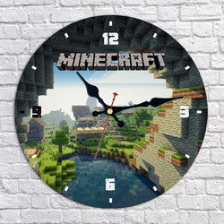 World of Minecraft Wall Clock