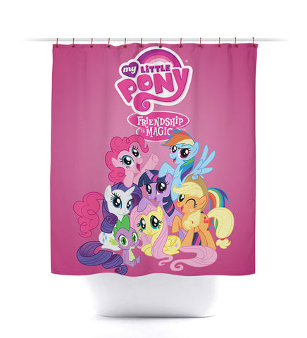 My Little Pony: Friendship is Magic Shower Curtain