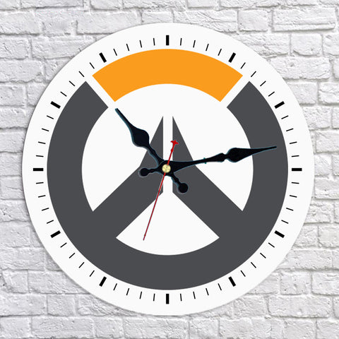 Overwatch Wall Clock