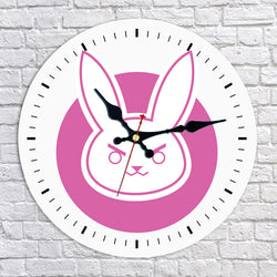 Overwatch D.Va Wall Clock