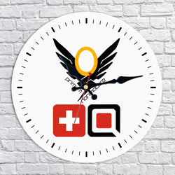Overwatch Mercy Wall Clock