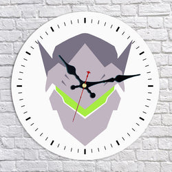 Overwatch Genji Shimada Wall Clock