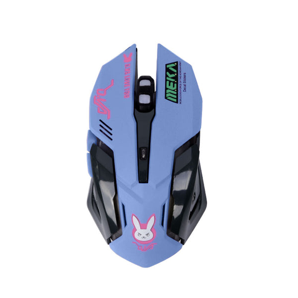 Overwatch Wired LED Backlit Computer Gaming Mouse
