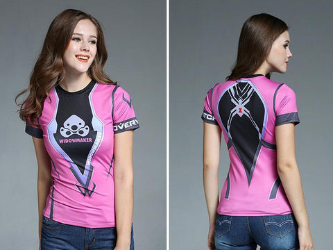 OverWatch Widowmaker Women's Short Sleeve T-Shirt