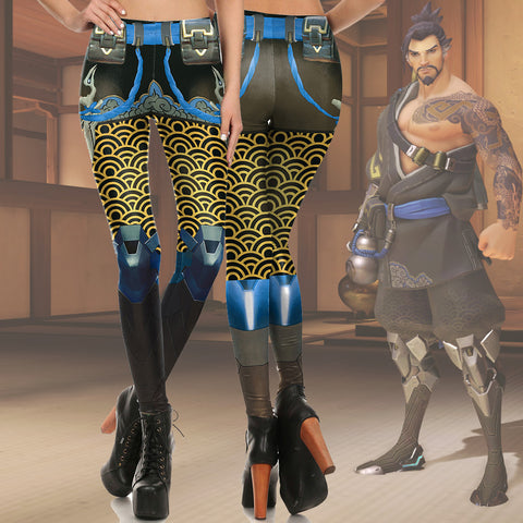 Hanzo Shimada Fitted Long Pants Legging