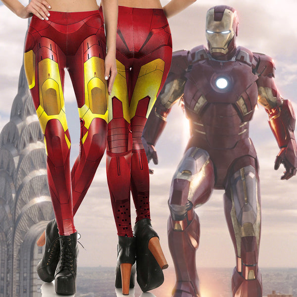 Iron Man Mark III Fitted Long Pants Legging