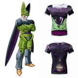 Perfect Cell Men's Compression Fitted Short Sleeve T-Shirt