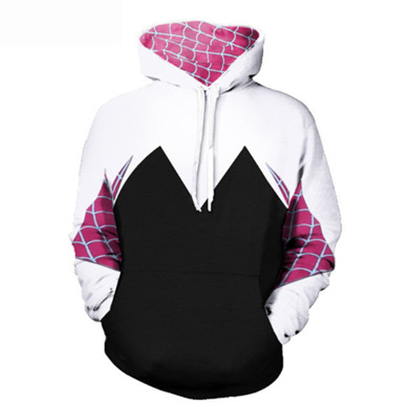 Spider-Gwen Stacy All Over Hoodie Sweatshirt