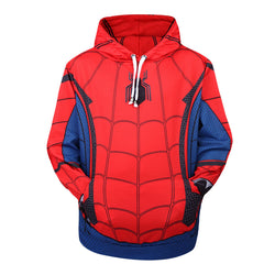 Spiderman Homecoming All Over Hoodie Sweatshirt
