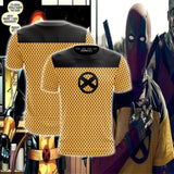 Deadpool 2 X-Men Trainee All-Over Short Sleeve T-Shirt