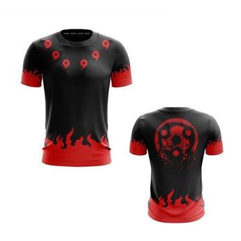 Uchiha Madara Rikudou Sennin All-Over Short Sleeve T-Shirt