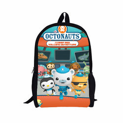 The Octonauts School Book Bag Backpack