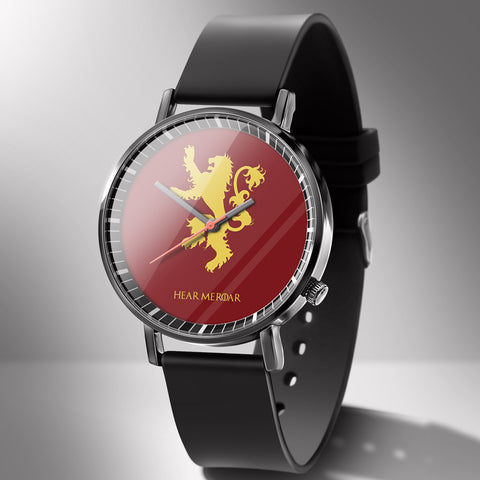 Game of Thrones House Lannister Wrist Watches