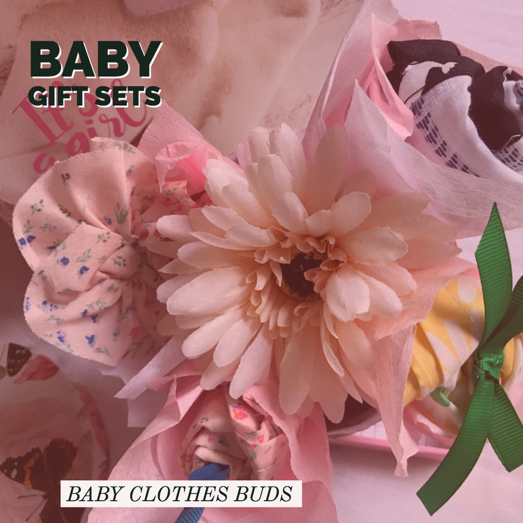 Baby Buds with Flowers Giftset for Pre-Order