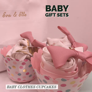 Cupcakes with Flowers Giftset for Pre-Order