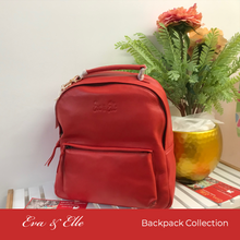 Load image into Gallery viewer, Chestnut Brown - Fashionable Leather Backpack