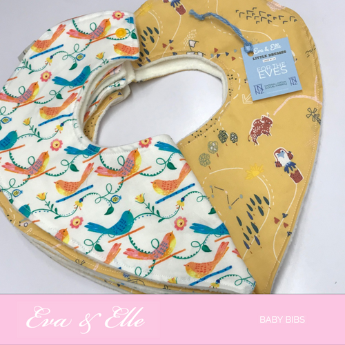 Hearty Baby Bibs with Microfleece