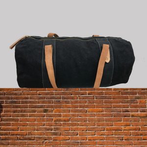 E&E Black Duffel Bag