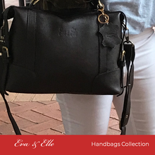 Load image into Gallery viewer, Black - Leather Fashion Handbag