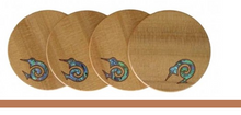 Load image into Gallery viewer, Kauri Kiwi Coasters