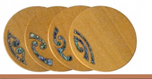 Load image into Gallery viewer, Kauri Mixed Koru Coasters