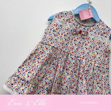 Little Dress in floral print 8mths 16mths