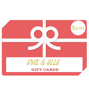 Gift Card value $100 onwards